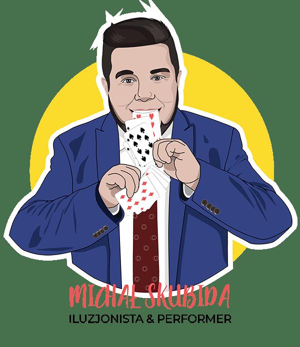 Michał Skubida Iluzjonista Performer